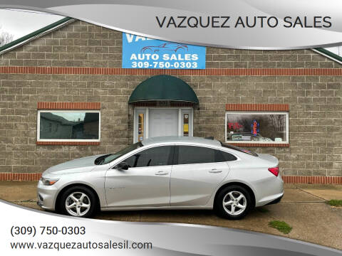 2017 Chevrolet Malibu for sale at VAZQUEZ AUTO SALES in Bloomington IL
