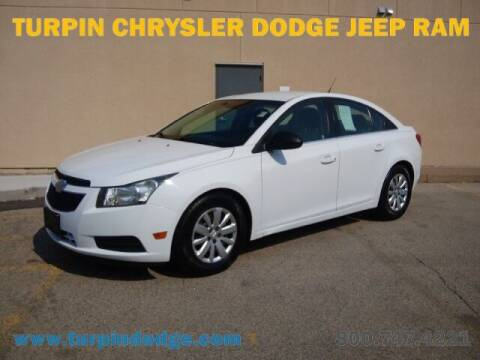 2011 Chevrolet Cruze for sale at Turpin Dodge Chrysler Jeep Ram in Dubuque IA