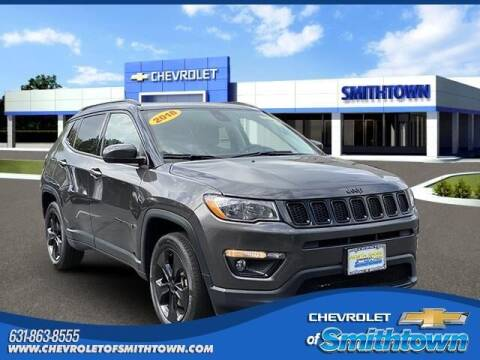 2018 Jeep Compass for sale at CHEVROLET OF SMITHTOWN in Saint James NY