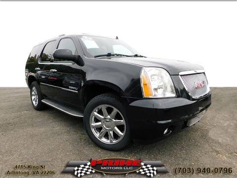 2011 GMC Yukon for sale at PRIME MOTORS LLC in Arlington VA