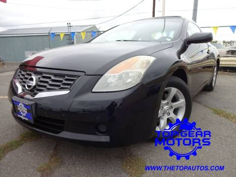 2008 Nissan Altima for sale at Top Gear Motors in Union Gap WA