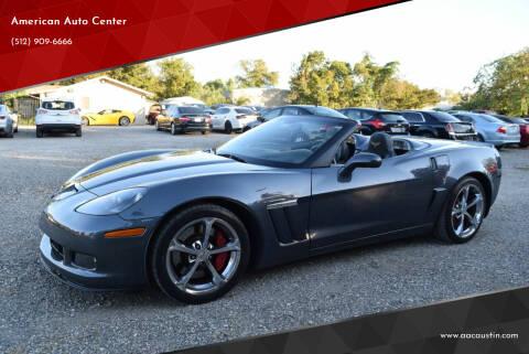2013 Chevrolet Corvette for sale at American Auto Center in Austin TX