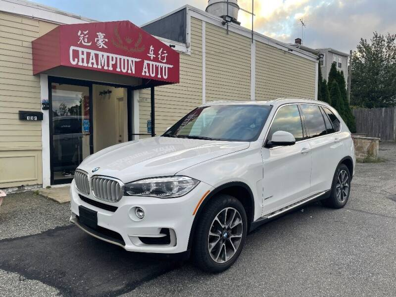 2017 BMW X5 for sale at Champion Auto LLC in Quincy MA
