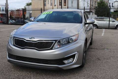 2013 Kia Optima Hybrid for sale at EZ PASS AUTO SALES LLC in Philadelphia PA