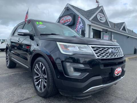 2016 Ford Explorer for sale at Cape Cod Carz in Hyannis MA