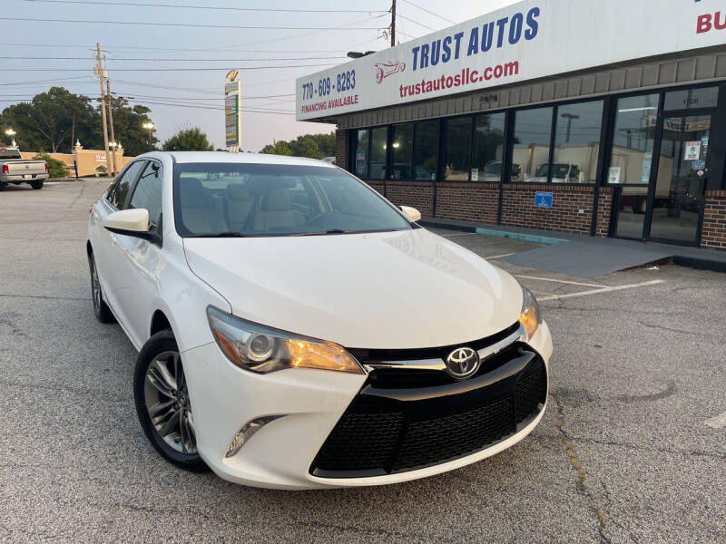 2017 Toyota Camry for sale at Trust Autos, LLC in Decatur GA