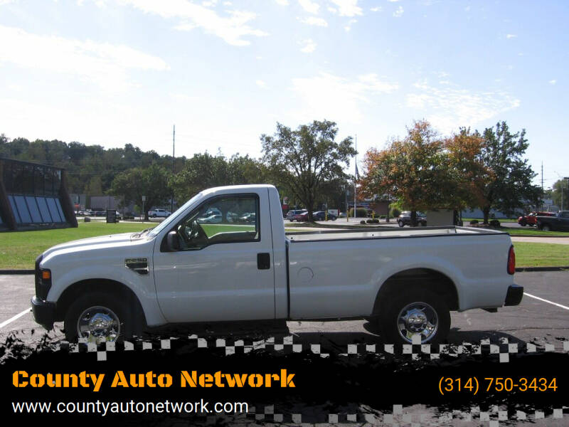 2008 Ford F-250 Super Duty for sale at County Auto Network in Ballwin MO