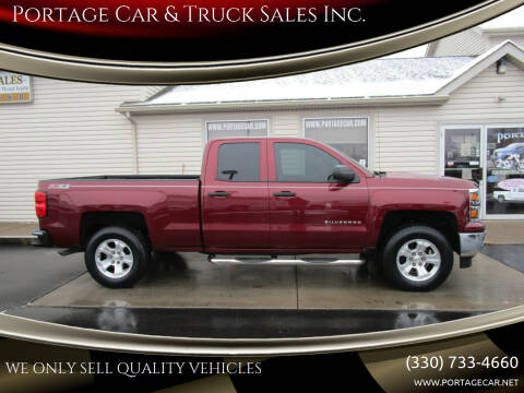2014 Chevrolet Silverado 1500 for sale at Portage Car & Truck Sales Inc. in Akron OH