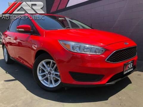2017 Ford Focus for sale at Auto Republic Fullerton in Fullerton CA