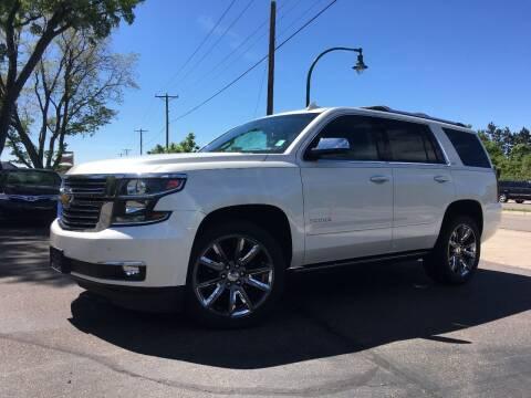 2015 Chevrolet Tahoe for sale at Premier Motors LLC in Crystal MN