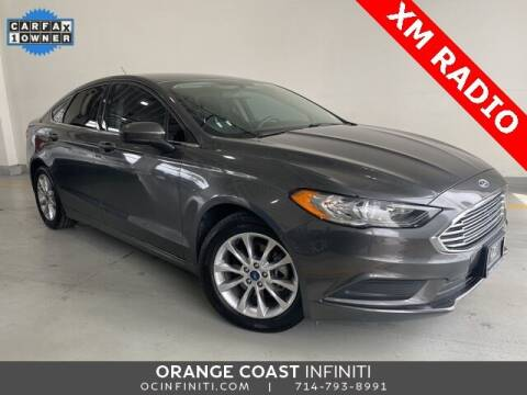 2017 Ford Fusion for sale at ORANGE COAST CARS in Westminster CA