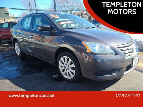 2014 Nissan Sentra for sale at TEMPLETON MOTORS in Chicago IL