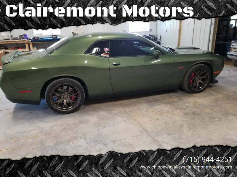 2018 Dodge Challenger for sale at Clairemont Motors in Eau Claire WI