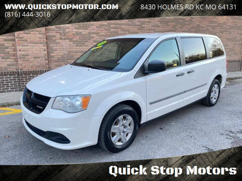 2012 RAM C/V for sale at Quick Stop Motors in Kansas City MO