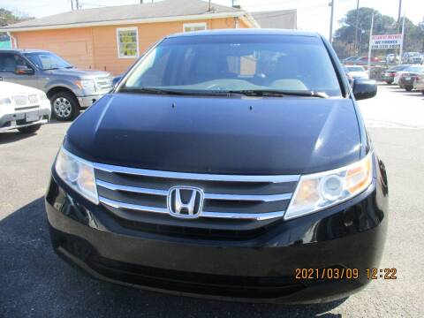 2011 Honda Odyssey for sale at Atlantic Motors in Chamblee GA