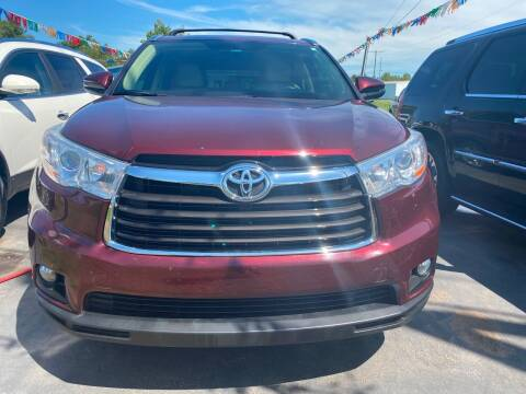 2014 Toyota Highlander for sale at BEST AUTO SALES in Russellville AR