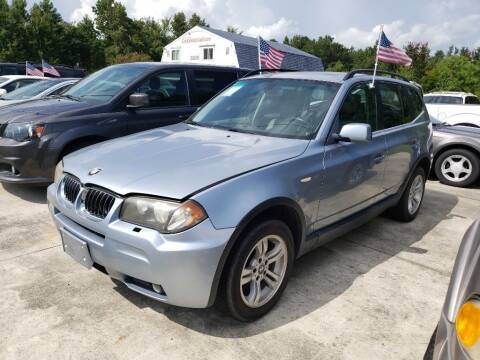 2006 BMW X3 for sale at Complete Auto Credit in Moyock NC