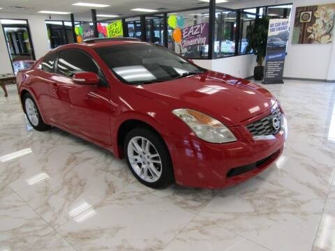 2008 Nissan Altima for sale at Dealer One Auto Credit in Oklahoma City OK