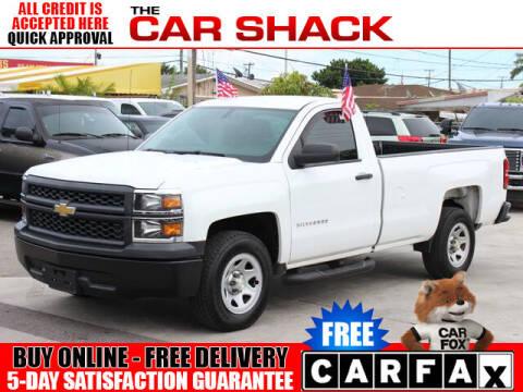 2014 Chevrolet Silverado 1500 for sale at The Car Shack in Hialeah FL