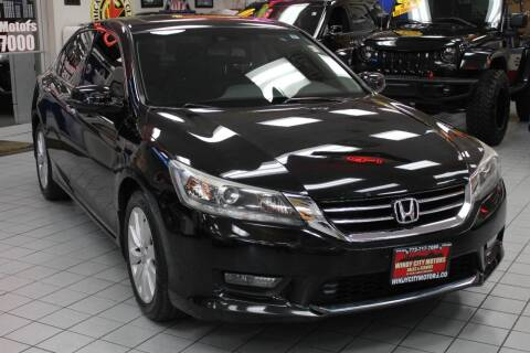 2014 Honda Accord for sale at Windy City Motors in Chicago IL