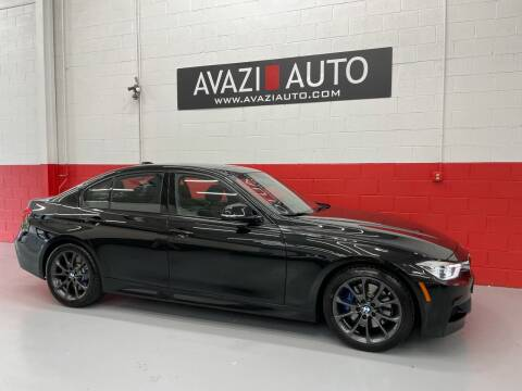 2017 BMW 3 Series for sale at AVAZI AUTO GROUP LLC in Gaithersburg MD