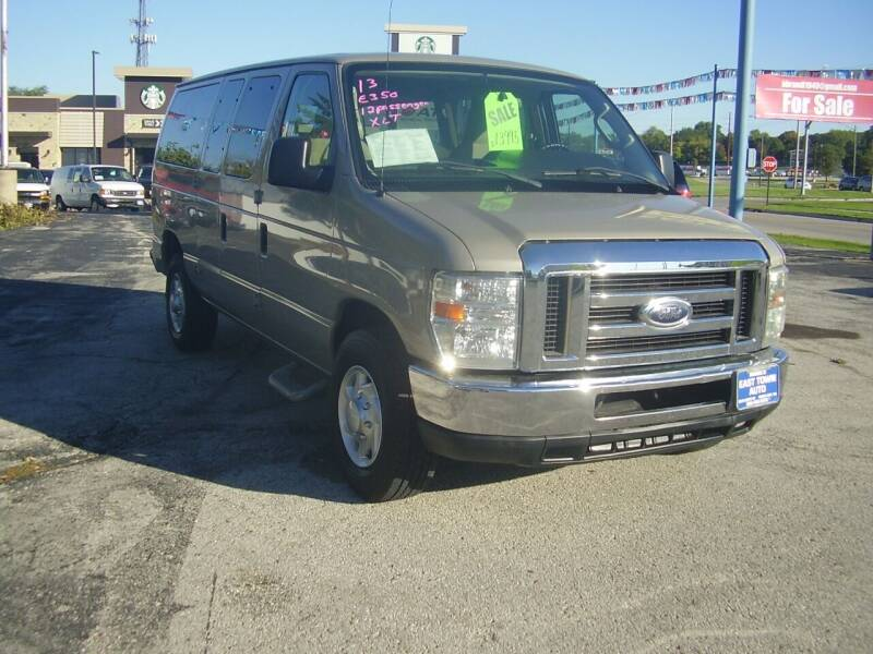 2013 Ford E-Series Wagon for sale at East Town Auto in Green Bay WI