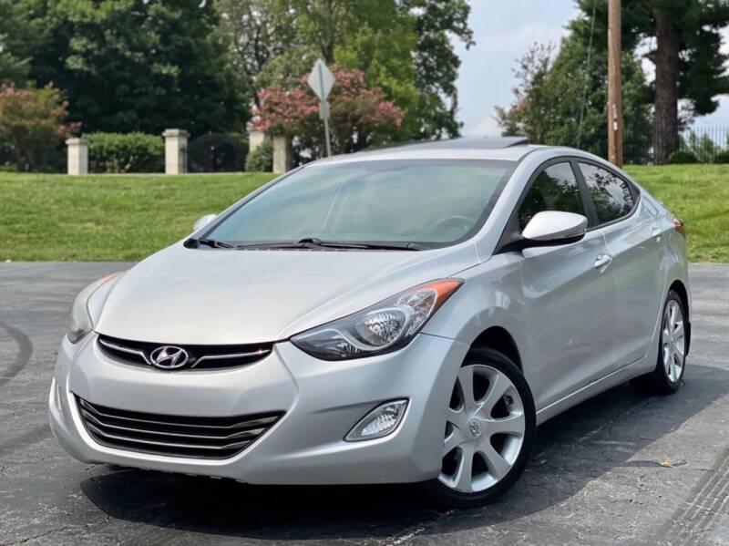 2013 Hyundai Elantra for sale at Sebar Inc. in Greensboro NC