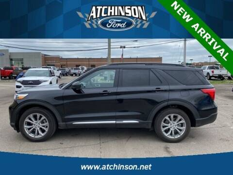 2020 Ford Explorer for sale at Atchinson Ford Sales Inc in Belleville MI