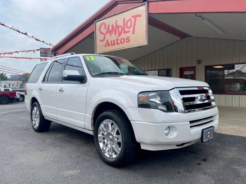 2012 Ford Expedition for sale at Sandlot Autos in Tyler TX