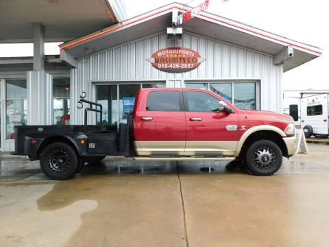 2014 RAM Ram Pickup 3500 for sale at Motorsports Unlimited in McAlester OK