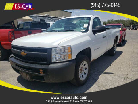 2013 Chevrolet Silverado 1500 for sale at Escar Auto in El Paso TX