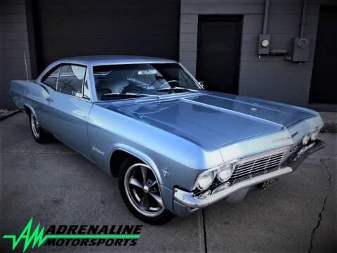 1965 Chevrolet Impala for sale at Adrenaline Motorsports Inc. in Saginaw MI