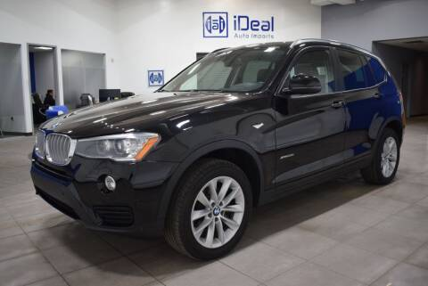 2017 BMW X3 for sale at iDeal Auto Imports in Eden Prairie MN