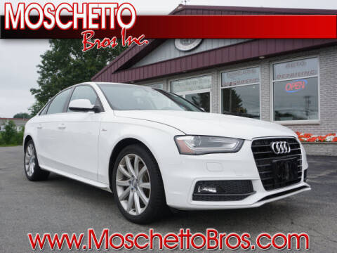 2014 Audi A4 for sale at Moschetto Bros. Inc in Methuen MA