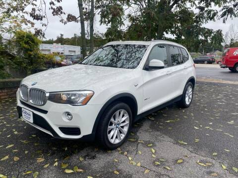 2017 BMW X3 for sale at ANDONI AUTO SALES in Worcester MA