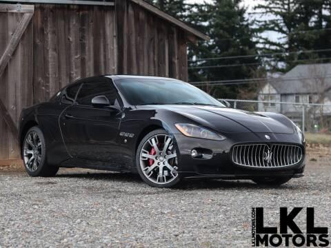 2012 Maserati GranTurismo for sale at LKL Motors in Puyallup WA