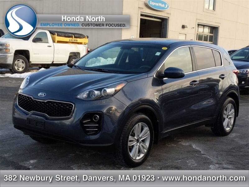 2017 Kia Sportage for sale at 1 North Preowned in Danvers MA