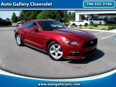 2015 Ford Mustang for sale at Auto Gallery Chevrolet in Commerce GA