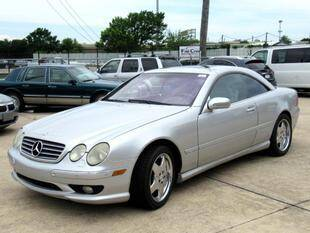 2001 Mercedes-Benz CL-Class for sale at Fall Creek Motor Cars in Humble TX