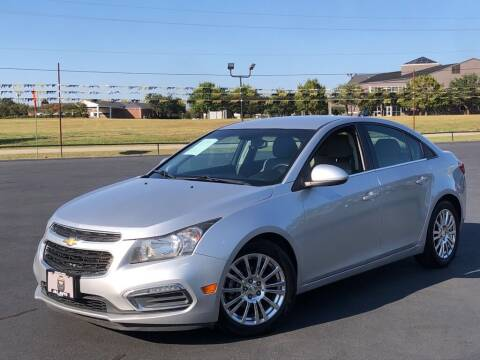 2015 Chevrolet Cruze for sale at J & L AUTO SALES in Tyler TX