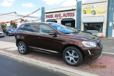2015 Volvo XC60 for sale at PARK AVENUE AUTOS in Collingswood NJ