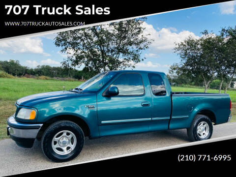 1998 Ford F-150 for sale at 707 Truck Sales in San Antonio TX