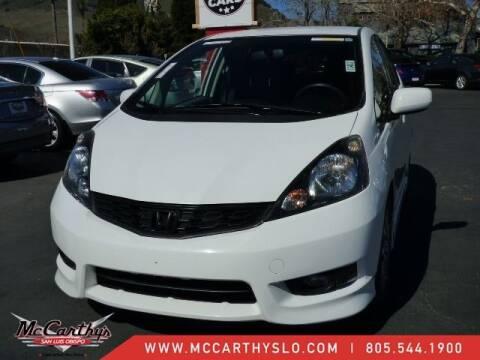 2013 Honda Fit for sale at McCarthy Wholesale in San Luis Obispo CA