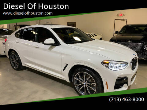 2021 BMW X4 for sale at Diesel Of Houston in Houston TX