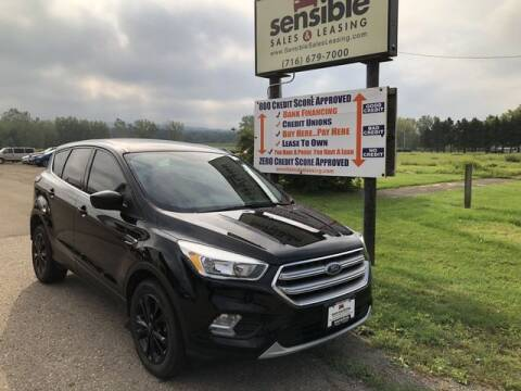 2017 Ford Escape for sale at Sensible Sales & Leasing in Fredonia NY