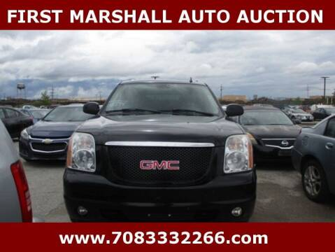 2008 GMC Yukon XL for sale at First Marshall Auto Auction in Harvey IL