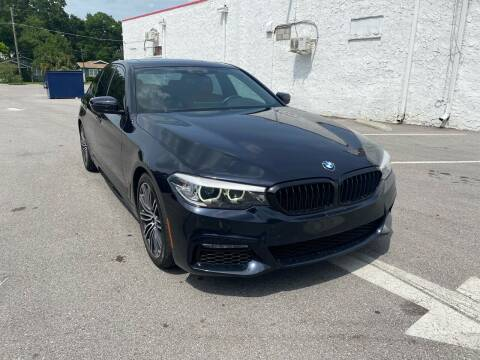 2018 BMW 5 Series for sale at LUXURY AUTO MALL in Tampa FL