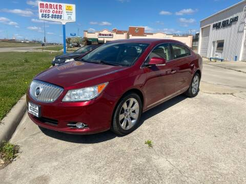 2011 Buick LaCrosse for sale at MARLER USED CARS in Gainesville TX