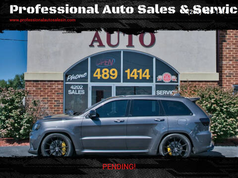 2019 Jeep Grand Cherokee for sale at Professional Auto Sales & Service in Fort Wayne IN