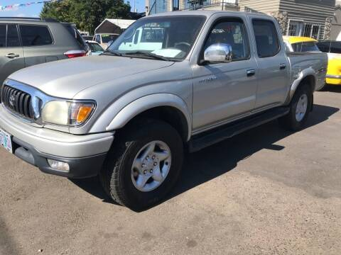 2001 Toyota Tacoma for sale at Chuck Wise Motors in Portland OR